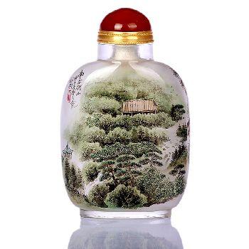 华夏五岳锦绣中华鼻烟壶2