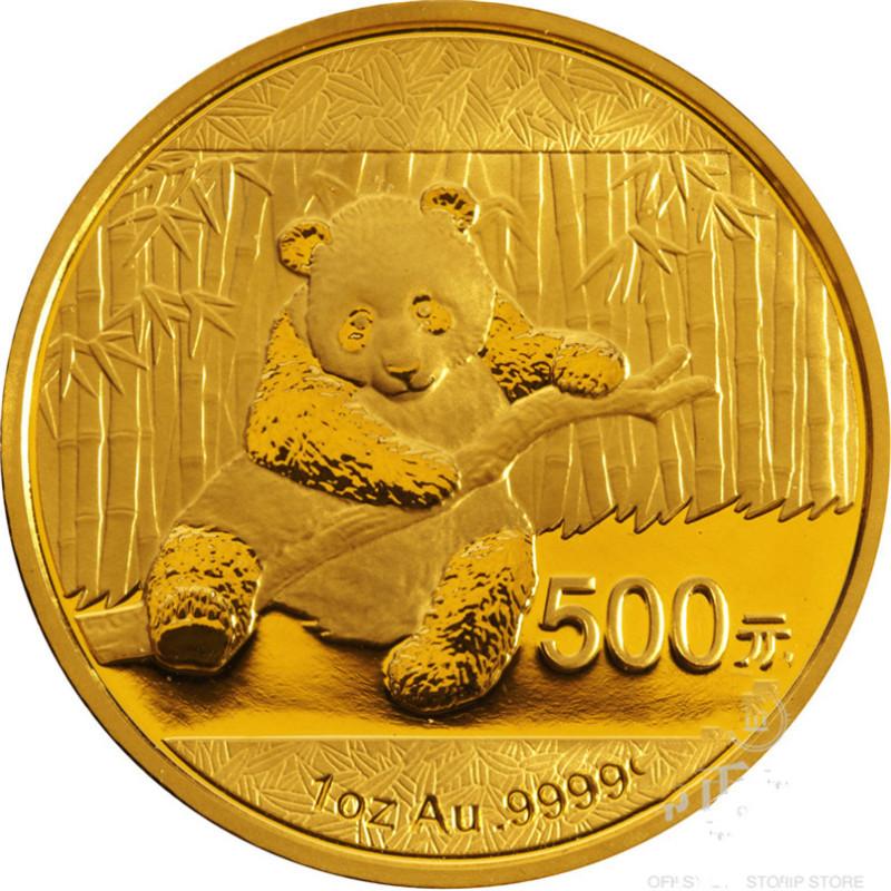 2014年熊猫金币纪念币
