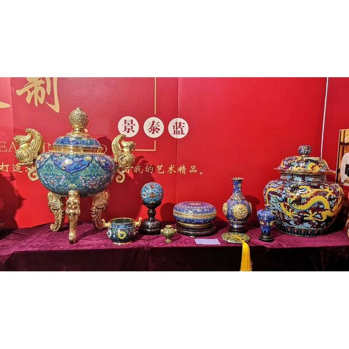 中国历代景泰蓝传世九