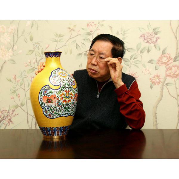 景泰蓝国礼锦绣如意富