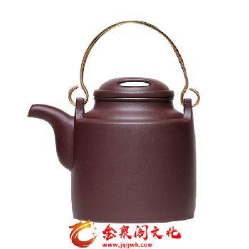 五色土紫砂茶具经典套组1