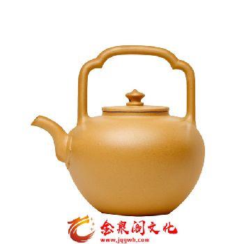 五色土紫砂茶具经典套组3