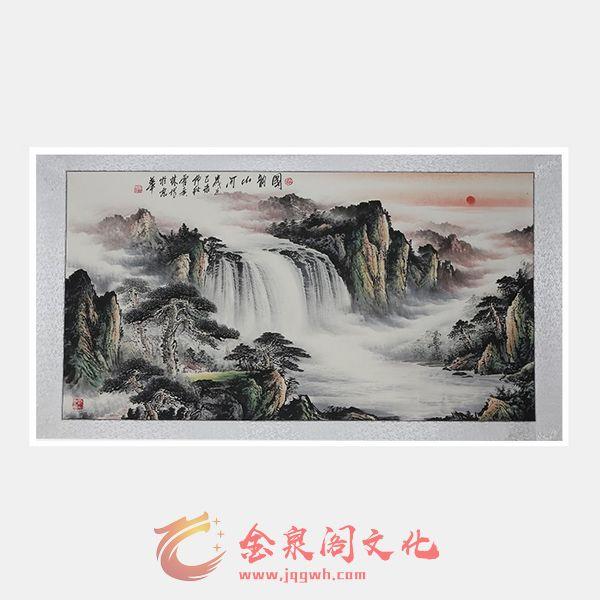 艺术家霍广林《国韵山